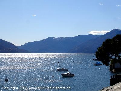Lago Maggiore von Ascona gesehen