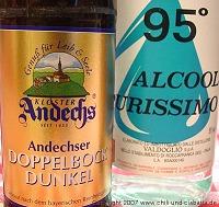 Doppelbock und Alkohol 96%