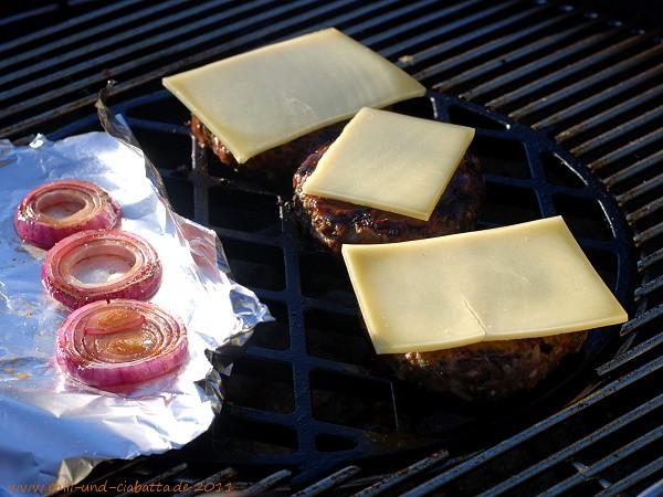 Burger mit Käse