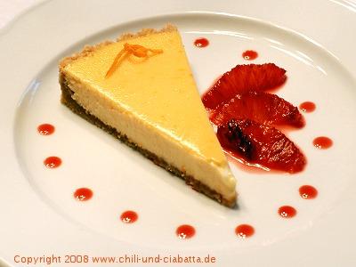 Cremige Orangen-Ricotta-Tarte