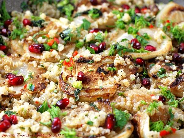Fenchel-Quinoa-Salat
