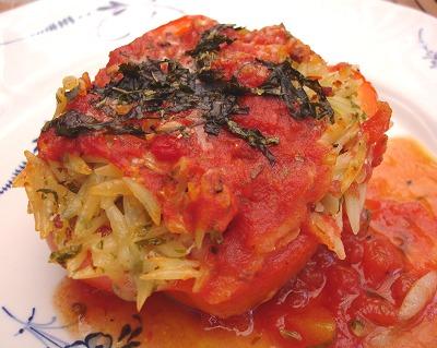 Paprika mit Risonifüllung