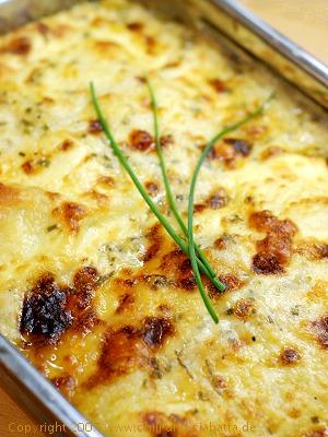 Käse-Schinken-Lasagne 1