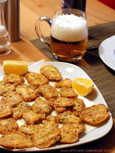 Kalbshirn-Käse-Plätzchen