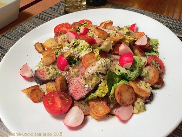 Kalbstafelspitz mit Bratkartoffelsalat