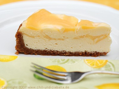 Lemon Curd Cheesecake 2