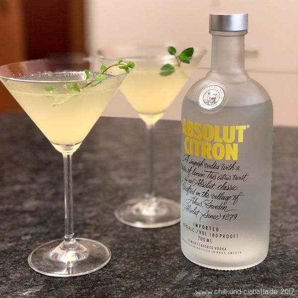 Mein Sparkling Mojito Martini