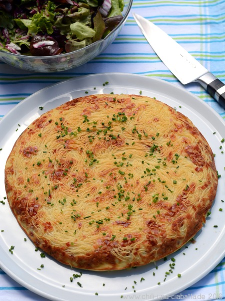 Pasta-Omelett