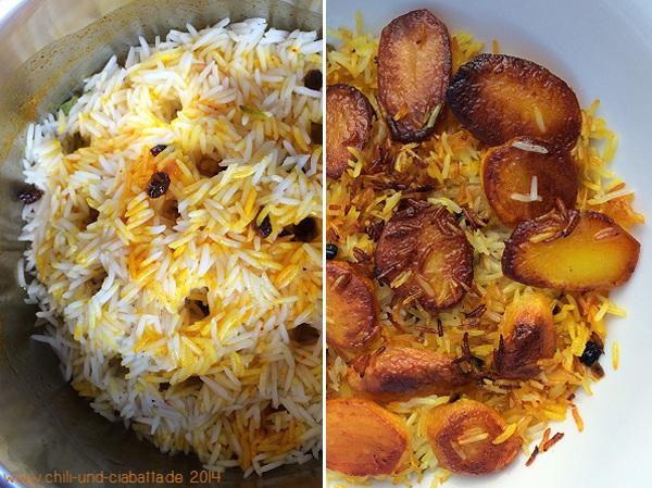 Persischer Kartoffelreis