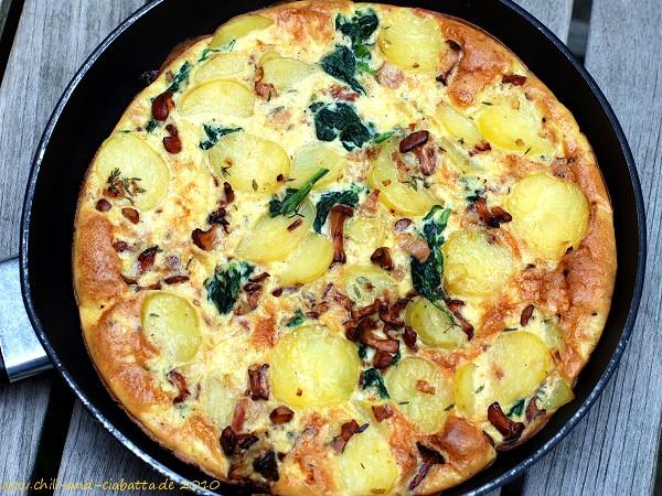Pfifferlings-Tortilla
