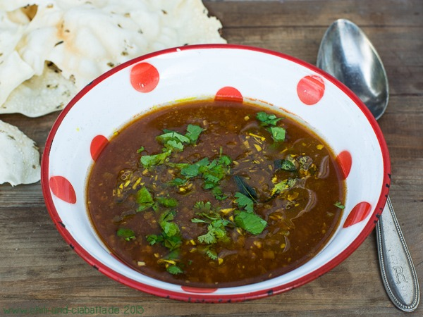 Rasam-Suppe