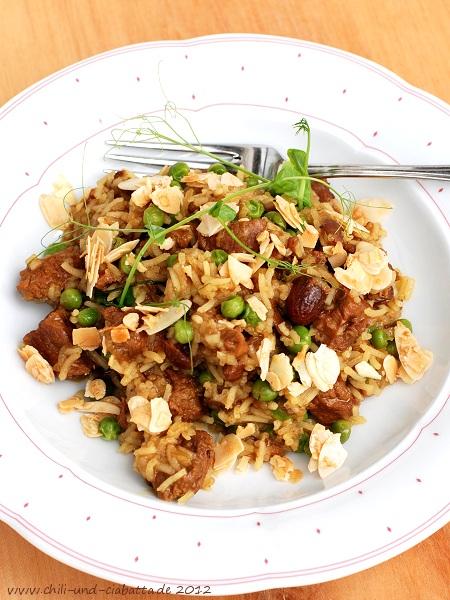 Reisfleisch mit Lamm