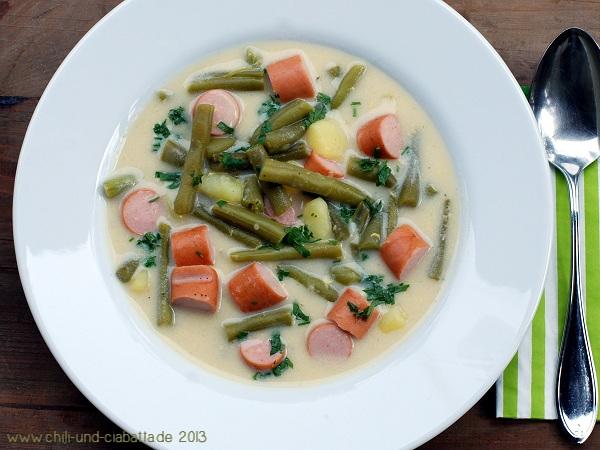 Rheinische Bohnensuppe