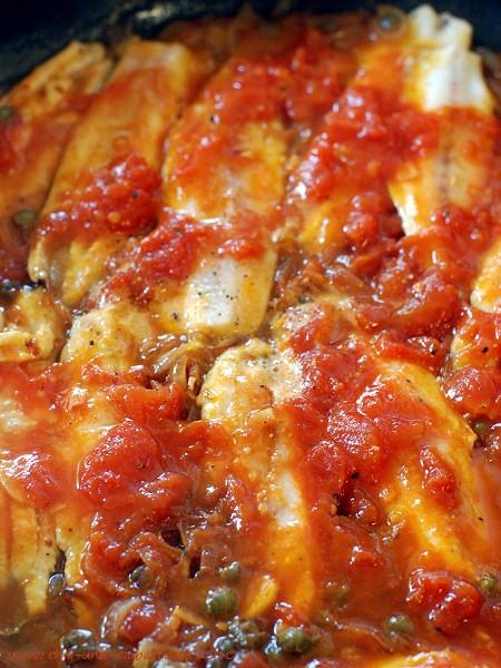 Sardinen in der Tomatensauce