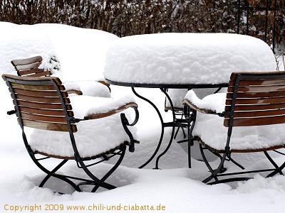 Ergiebige Schneefälle im Bayerischen Wald