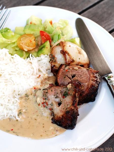Fleisch auf dem Teller