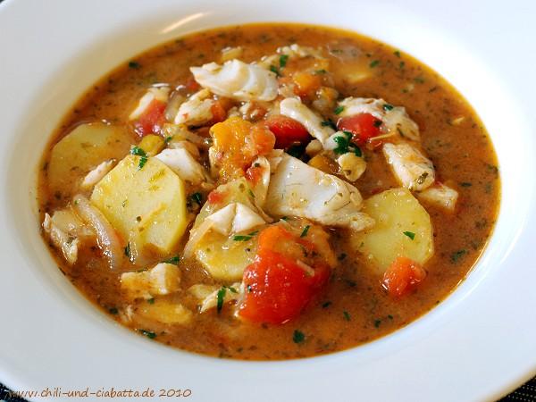 Tunesische Fischsuppe