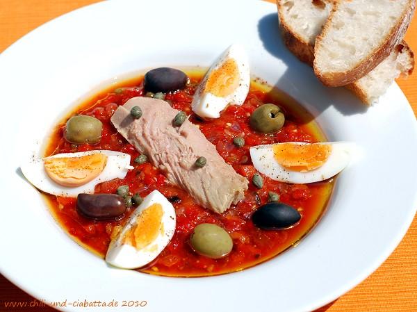 Tunesisches Gemüsepüree - Salata Mischwiya