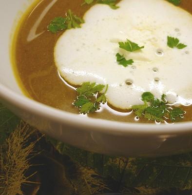 Wildentensuppe mit Maronen