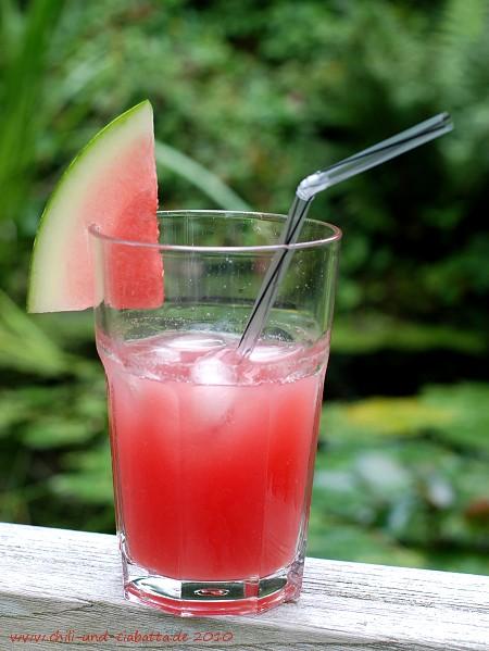 Wassermelonen-Ingwer-Limonade