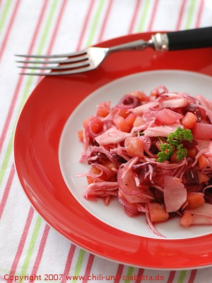 Wurzelsalat mit Topinambur