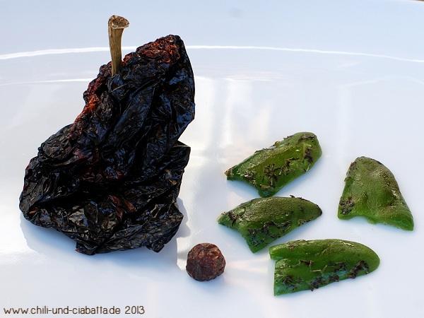 Chilis für die Mole