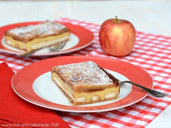 Schnelle Apfelschnitten mit Apple Butter