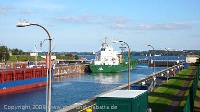 Aussichtspunkt Wik Nord-Ostsee-Kanal