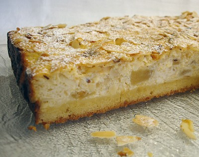 Ricotta-Apfelschnitten