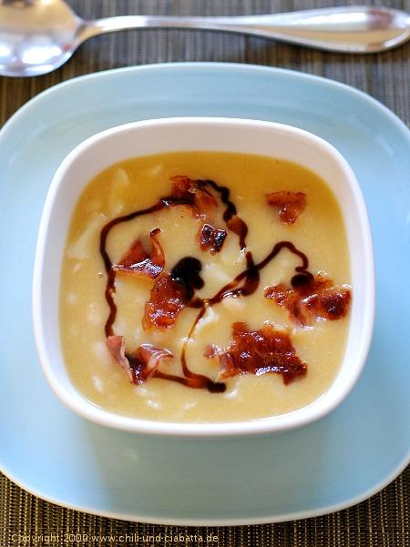 Cannellini-Bohnensuppe mit Pasta