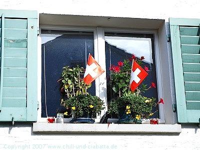 Schweizer Fähnchen
