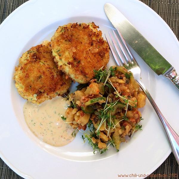 Fischpflanzerl mit steirischem Kartoffelsalat
