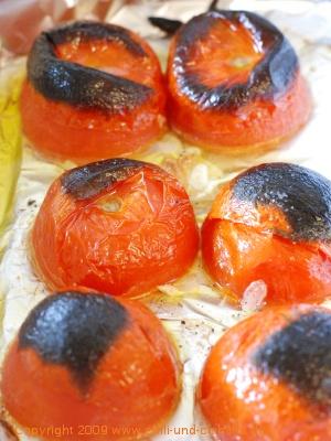 gegrillte Tomaten