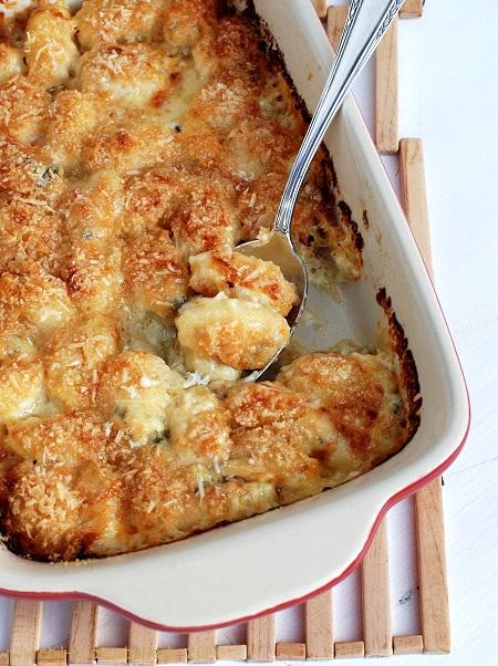 Gnocchi-Gratin mit Gorgonzola
