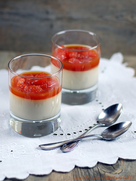 Grapefruit-Kokos-Panna cotta