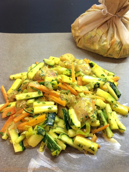 Hähnchen-Gemüse-Mix