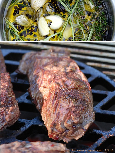 Hanger Steak Marinade Grill