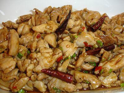 Hähnchen mit Sichuanpfeffer