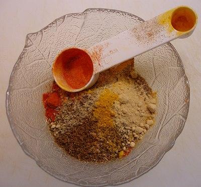 Gewürze für Marokkanisches Huhn