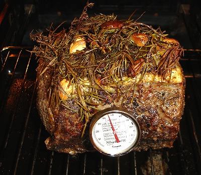 Fleisch im Ofen