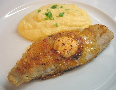 Red Snapper mit Chipotle-Butter