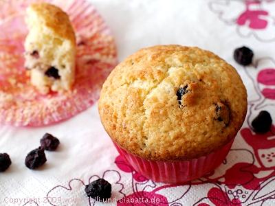 Blueberry-Zitronen-Muffins