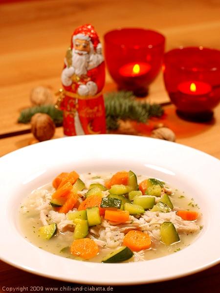 Reistopf mit Huhn und Gemüse