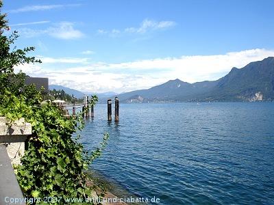 Lago Maggiore von Intra aus