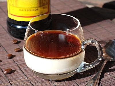 Kaffee Panna Cotta