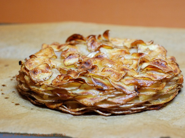 Galette im Ring, nach dem Backen