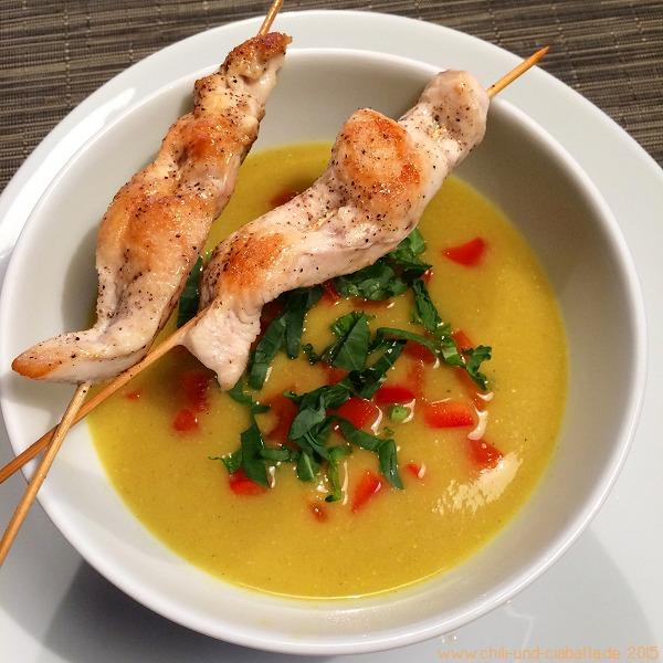 Kohlrabi-Kokos-Suppe