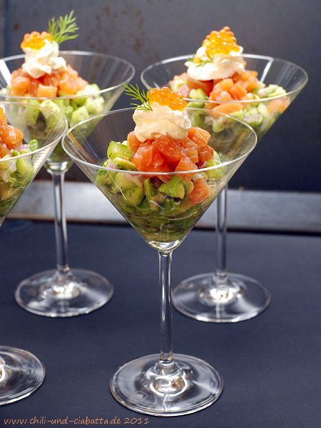 Graved Lachs Martini