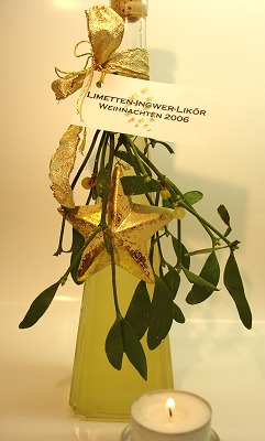 Limetten-Ingwer-Likör 1