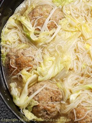 Löwenköpfe - fertiges Gericht